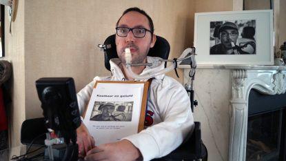 Terminaal, maar tevreden: Matthias (31) schreef een boek over zijn leven met de ziekte van Duchenne