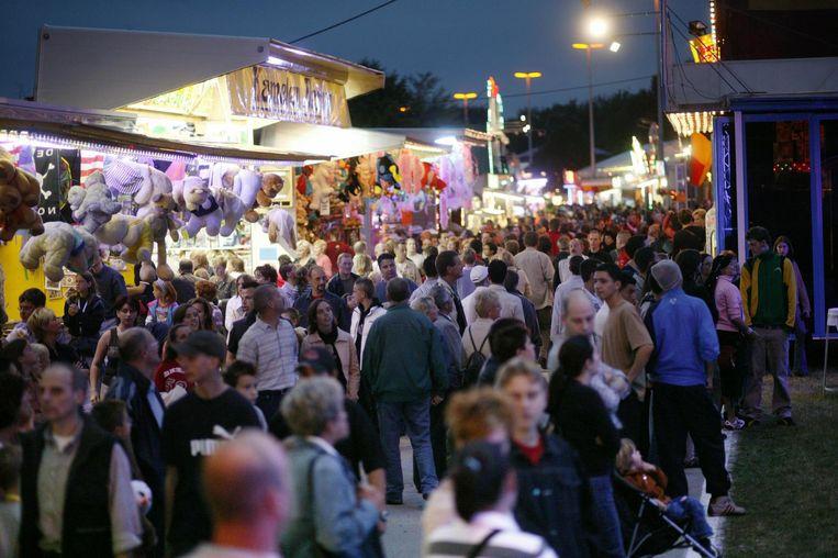 De kermis lokt altijd veel bezoekers, vorig jaar nog 260.000 in totaal.