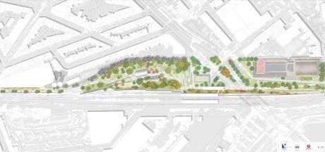 Schetsontwerp Spoorpark goedgekeurd: twee buurten worden op een groene manier met elkaar verbonden