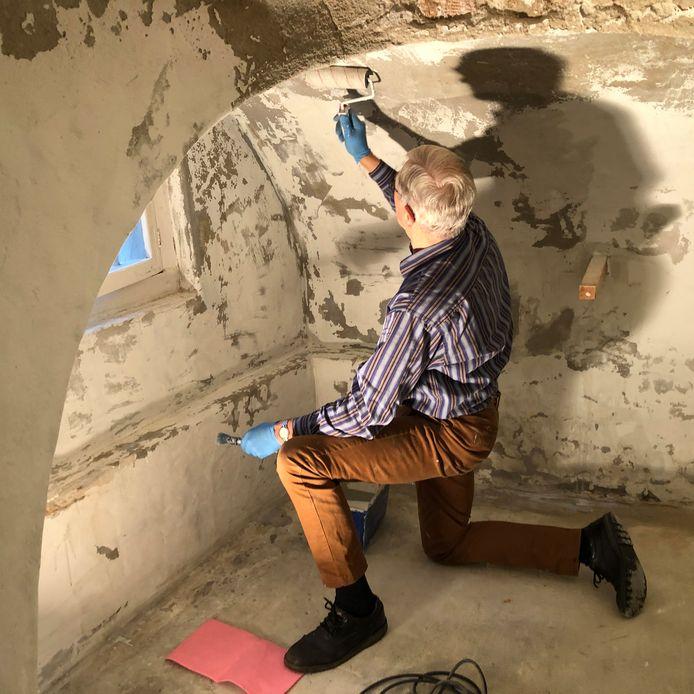 Ook de kelder van museum De Koperen Knop wordt opgeknapt.
