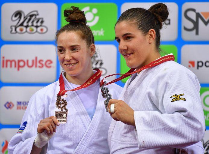 Wie gaat er naar de Spelen van Tokio? Marhinde Verkerk (links) of Guusje Steenhuis?