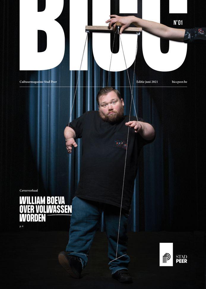 William Boeva op de cover
