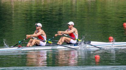 Niels Van Zandweghe en Tim Brys mogen naar Spelen na winst in B-finale lichte dubbeltwee