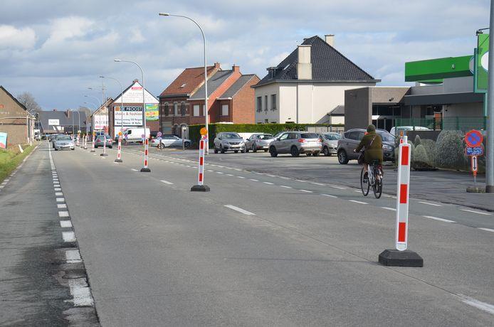 De nutswerken op de Brakelsesteenweg in Ninove werden al beëindigd.