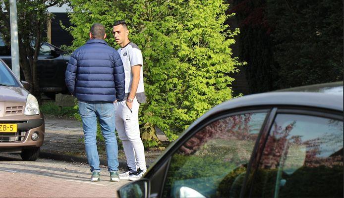 De woning van Eran Zahavi werd zondag overvallen.