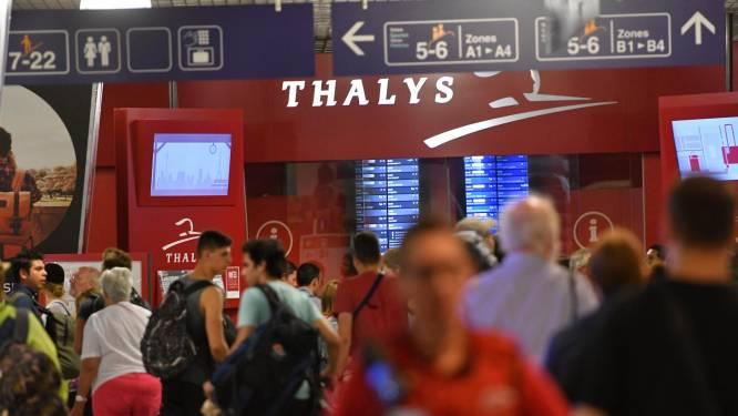 Thalys verhoogt aanbod tijdens zomervakantie