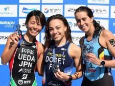 Claire Michel décroche le  bronze à la Coupe du monde de triathlon