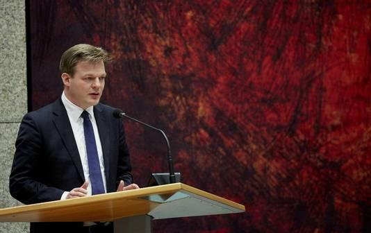 Kamerlid Pieter Omtzigt van het CDA,