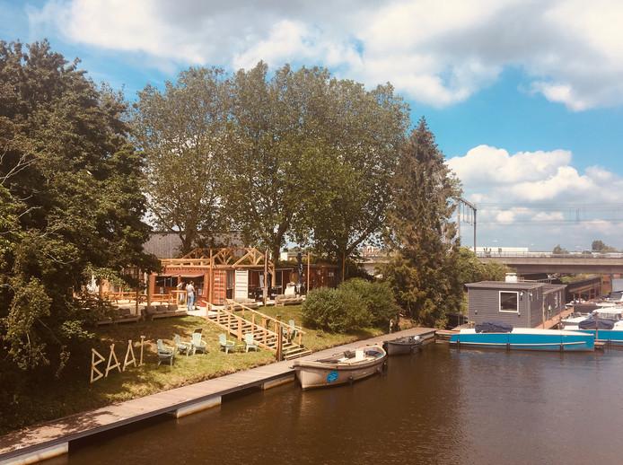 De voormalige jachthaven De Werve is omgetoverd tot BAAI