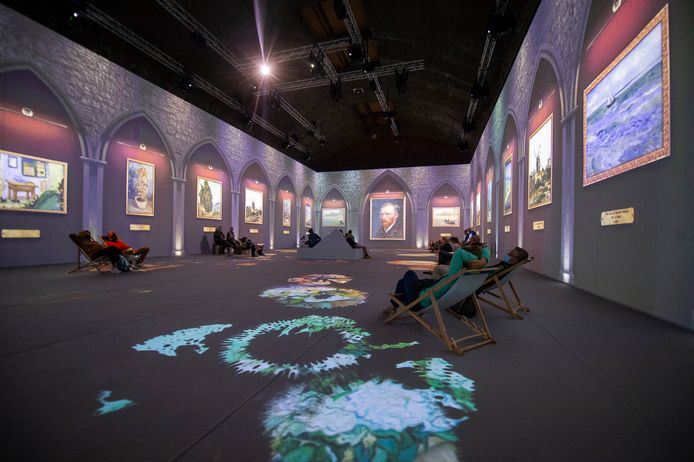 De Vincent Van Gogh-expo in de Waagnatie.