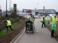 Wethouder: McDonald's maakt werk van aanpak zwerfvuil, Enspijk wil uitbreiden