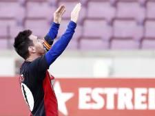 Maillot des Newell's Old Boys et doigs pointés vers le ciel: le but hommage de Messi à Maradona