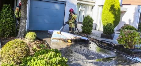Woningbrand in Deurne onder controle, matras vloog in brand