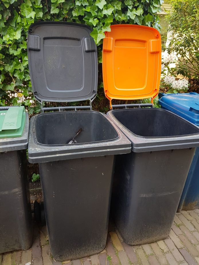 Afvalcontainers. Foto ter illustratie.
