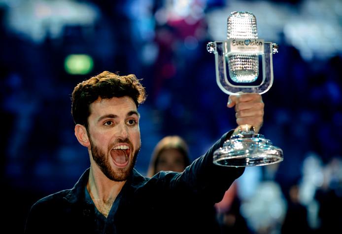 Duncan Laurence ziet zichzelf wel op het podium van het Eurovisiesongfestival 2020.