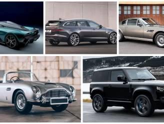 Van snelste tot ruigste Bond car ooit: deze auto's schitteren samen met 007 op het witte doek