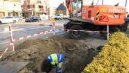 Graafkraan raakt gasleiding bij nutswerken op Vesten, N70 even afgesloten