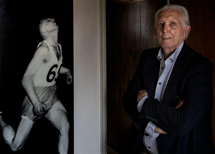 Teun Aret hoorde in de jaren vijftig bij de landelijke top op de sprintnummers. Afgelopen zomer werd hij negentig jaar oud.