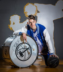 Bryant Binnekamp, clubheld van Landstede basketbal Zwolle