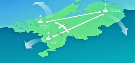 Elektrisch vliegen vanaf Eindhoven Airport: Duitsland is de wens maar eerst naar Groningen