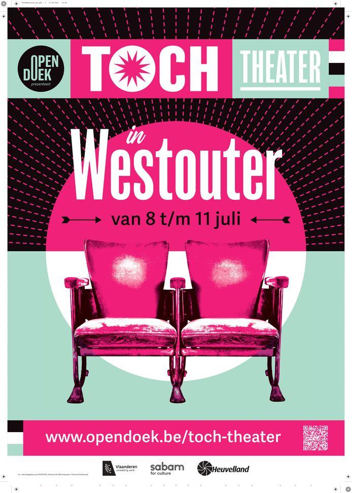 Geen klassieke Spots Op West dit jaar, maar Opendoek zorgt voor een alternatief: 'Toch Theater'.