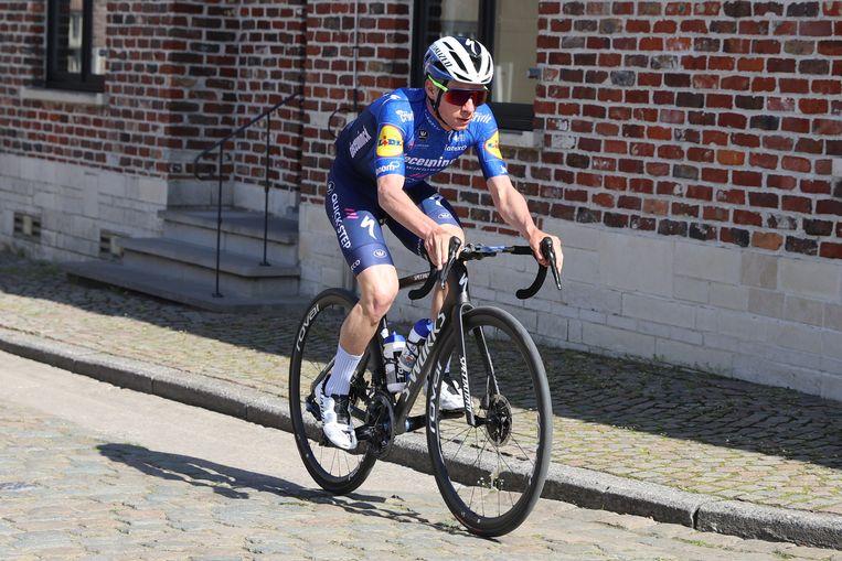 Remco Evenepoel. Beeld Jan De Meuleneir / Photo News