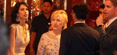 Twitteraars genieten van swingende Hillary Clinton op immens huwelijksfeest