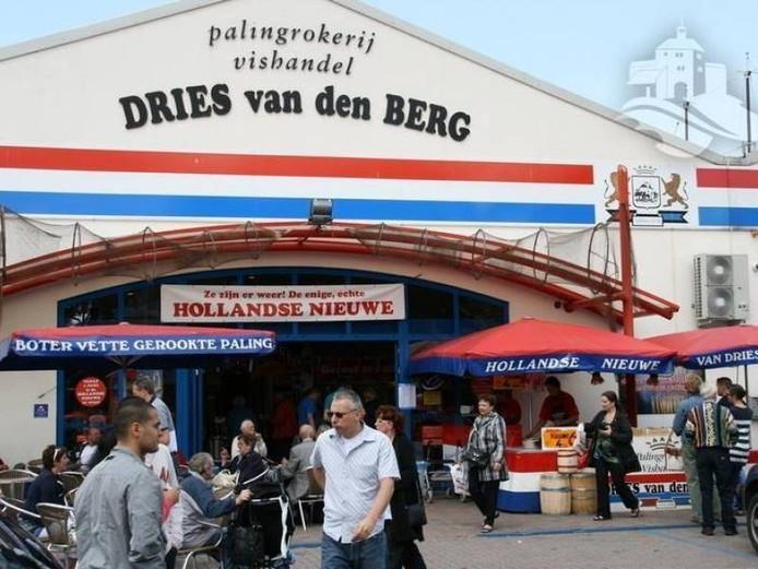De bestaande zaak van Dries van den Berg, aan de Burgemeester de Meesterstraat.