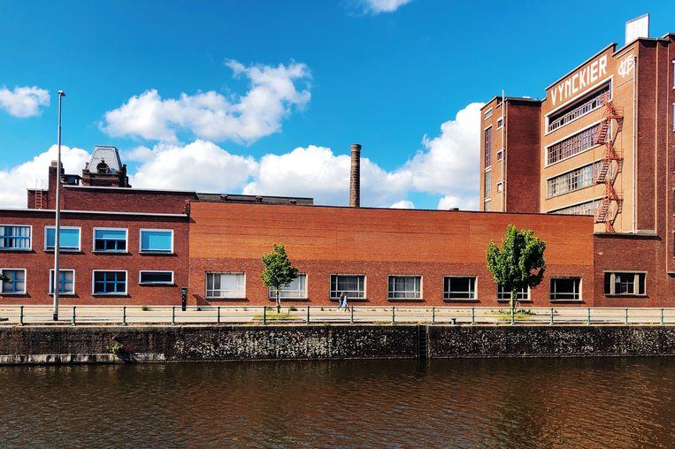 De Vynckiersite, waar vroeger elektrisch materiaal geproduceerd werd, is beschermd erfgoed. Beeld Freek Evers