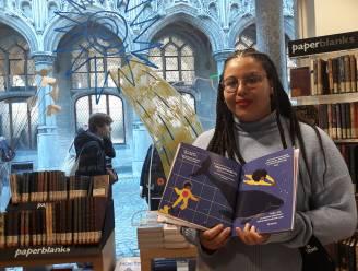 Shamisa Debroey stelt eerste kinderboek voor