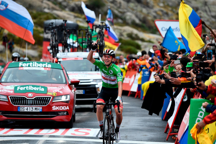 Nouvelle victoire d'étape pour Tadej Pogacar, véritable révélation de cette Vuelta.