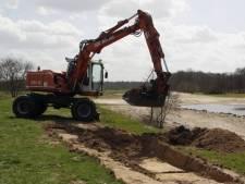 Met 4.300 meter nieuwe waterleidingen kan Heerle er weer effe tegen