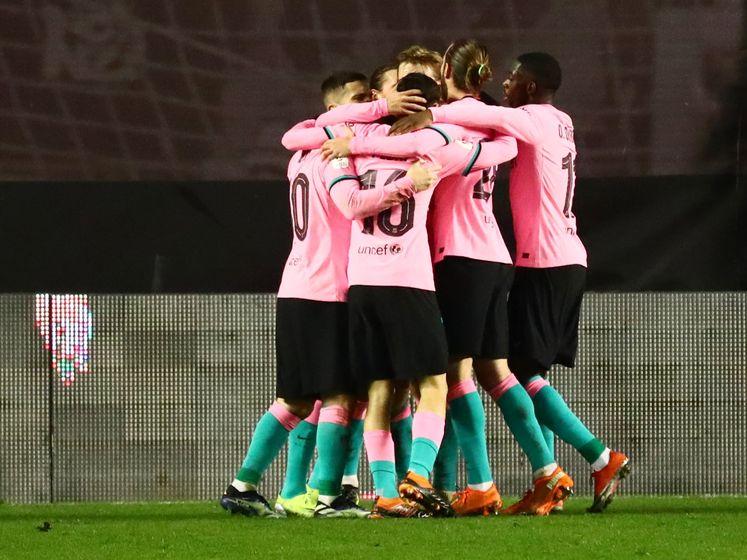 Frenkie de Jong reddende engel voor Barcelona