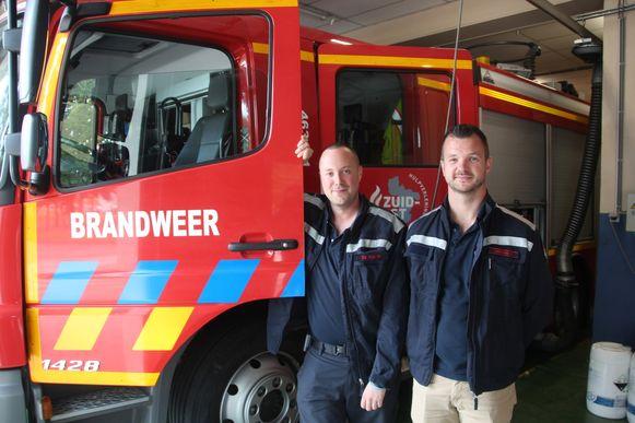 Brandweermannen Michael De Nijs en Brecht Geeroms worden voor een weekje Portugese bombeiros.