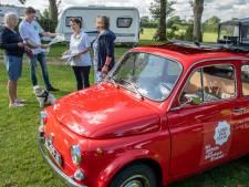 Campagne voor toerisme in Land van Cuijk: 'Roodtrip' met Fiat 500 langs de vakantieganger