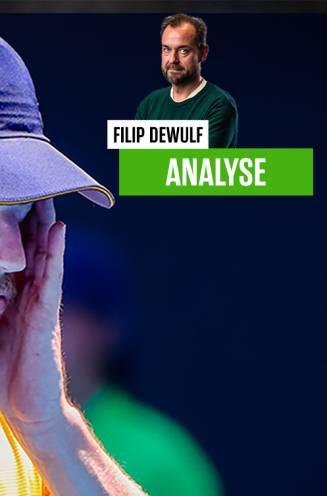 Onze tenniswatcher Filip Dewulf neemt het (een laatste keer) op voor Goffin, maar voelt ook de druk en twijfel in zijn hoofd