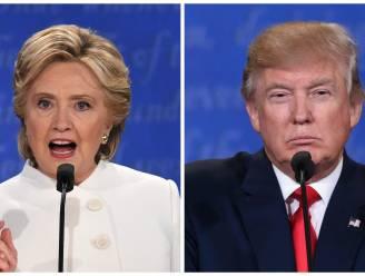 Clinton won laatste tv-debat met 9 procentpunt