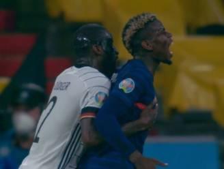 """Pogba vraagt om 'knabbelende' Rüdiger niet te straffen na bijtincident: """"We zijn vrienden, dit is niets speciaals"""""""