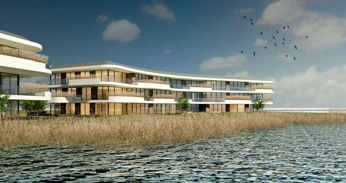 Nog zo'n taai dossier in Willemstad: de bouw van appartementen in het gebied Havenfront.