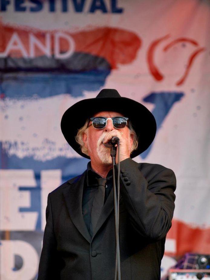 Jaap Meurs op het Bevrijdingsfestival in Wageningen