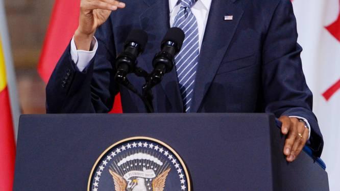 Letterlijk: Obama's scherpe slottoespraak in Bozar