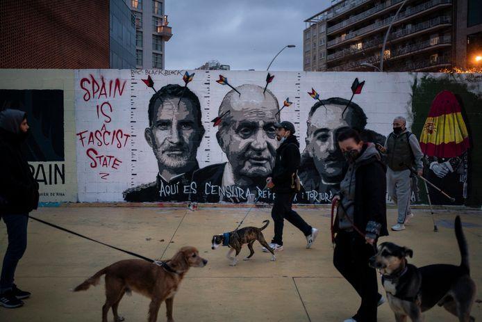Graffiti in Barcelona.