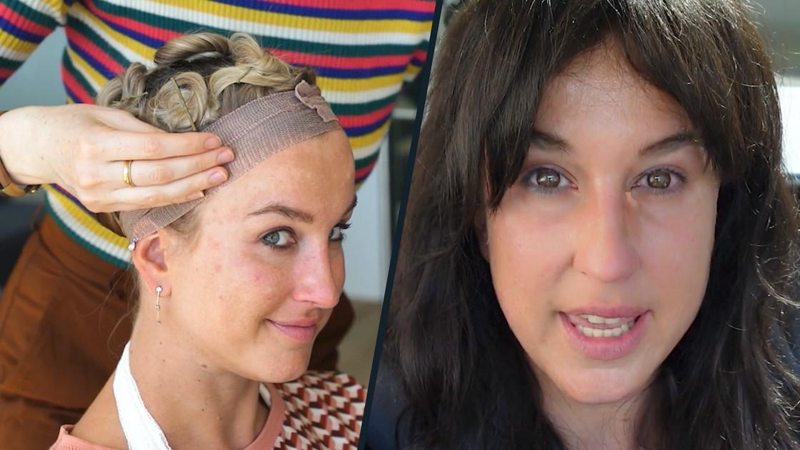 Kat Kerkhofs vermomt zich als Russische journaliste