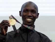 Marathonloper Kipsang voorlopig geschorst wegens doping