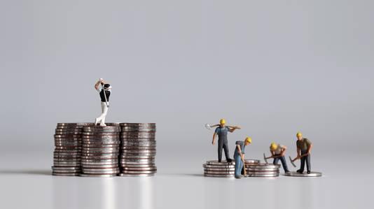 Inkomensongelijkheid maakt de kloof tussen arm en rijk groter.