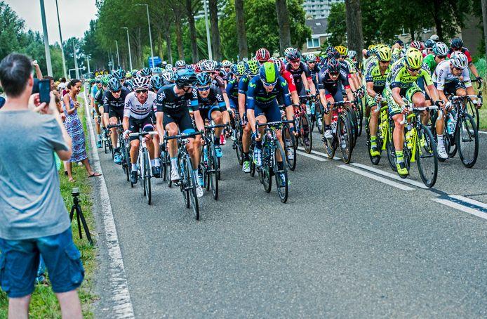 De renners van de Tour de France reden in 2010 nog door Capelle aan den IJssel.