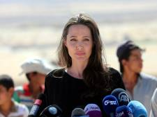 Angelina Jolie in Peru voor Venezolaanse vluchtelingen