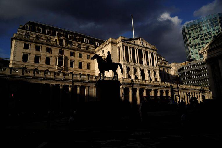 De Bank of England in Londen.  Beeld AFP