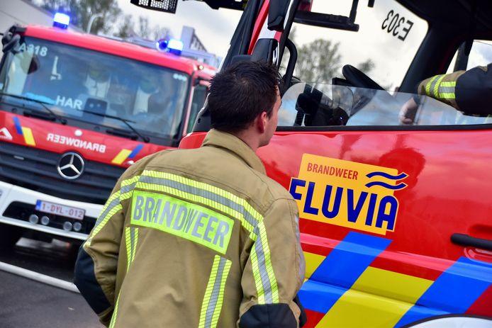 De hulpverleningszone Fluvia kreeg amper oproepen voor wateroverlast