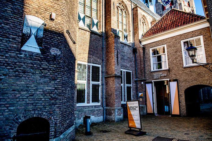 Museum Prinsenhof Delft doet ook mee aan de driedaagse proef.